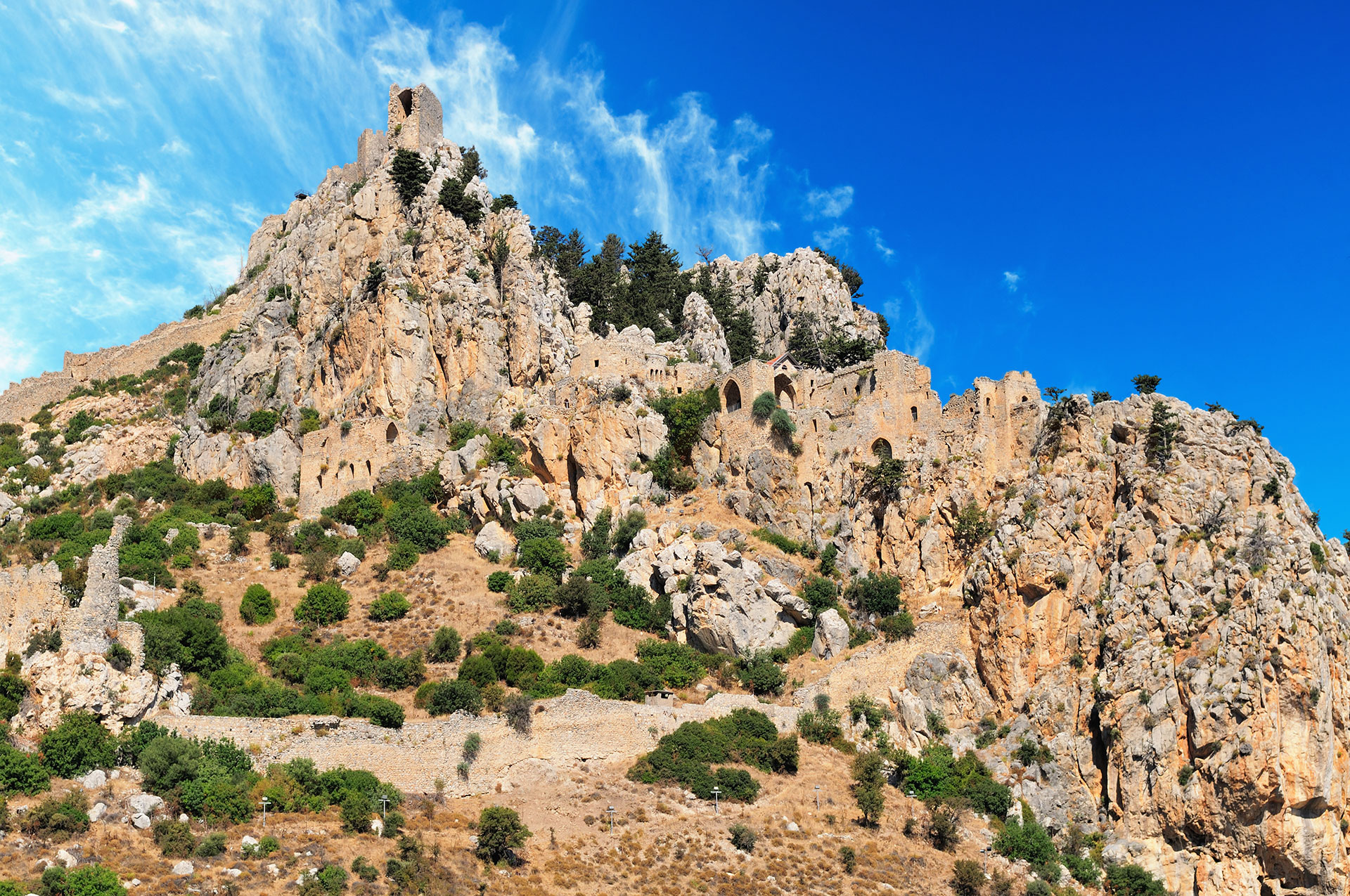 This image has an empty alt attribute; its file name is St.-Hilarion-castle.jpg