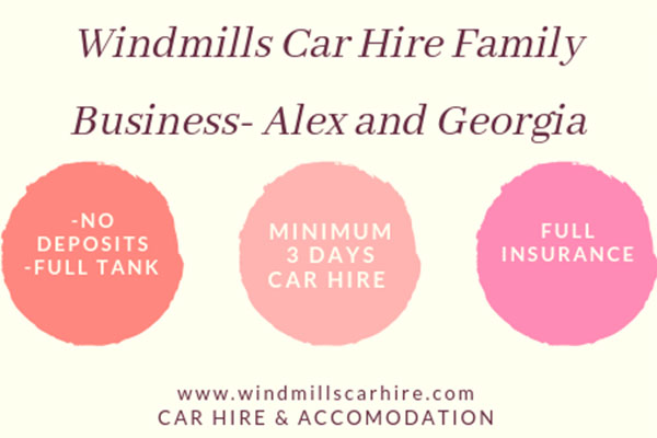 WINDMILLS CAR HIRE